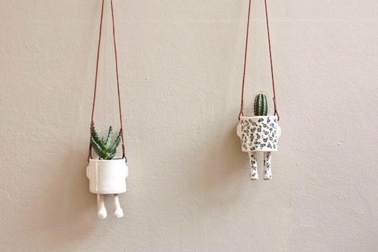 Wacamole Ceramic Planters