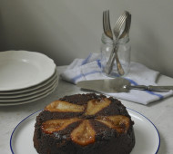 chocolate-pear-cake