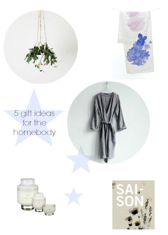5 gifts for the homebody