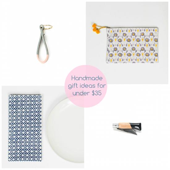 handmade gift ideas fo under $35