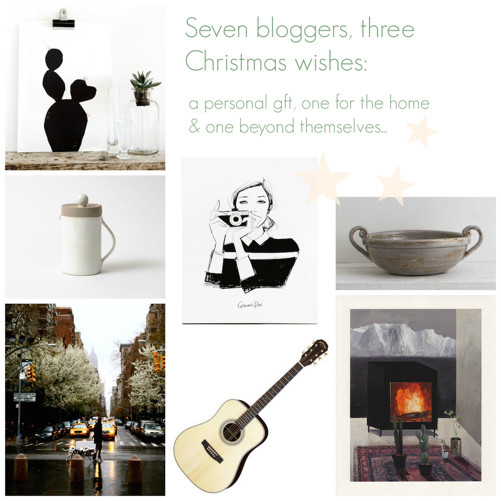 7 bloggers, 3 christmas wishes