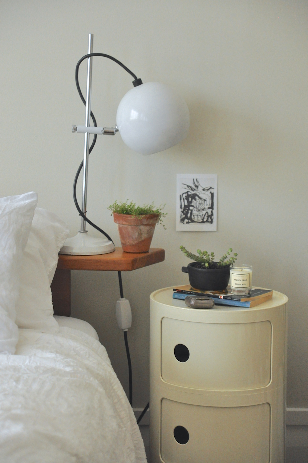 Urban Jungle Bloggers | Cosy & Green Bedroom1