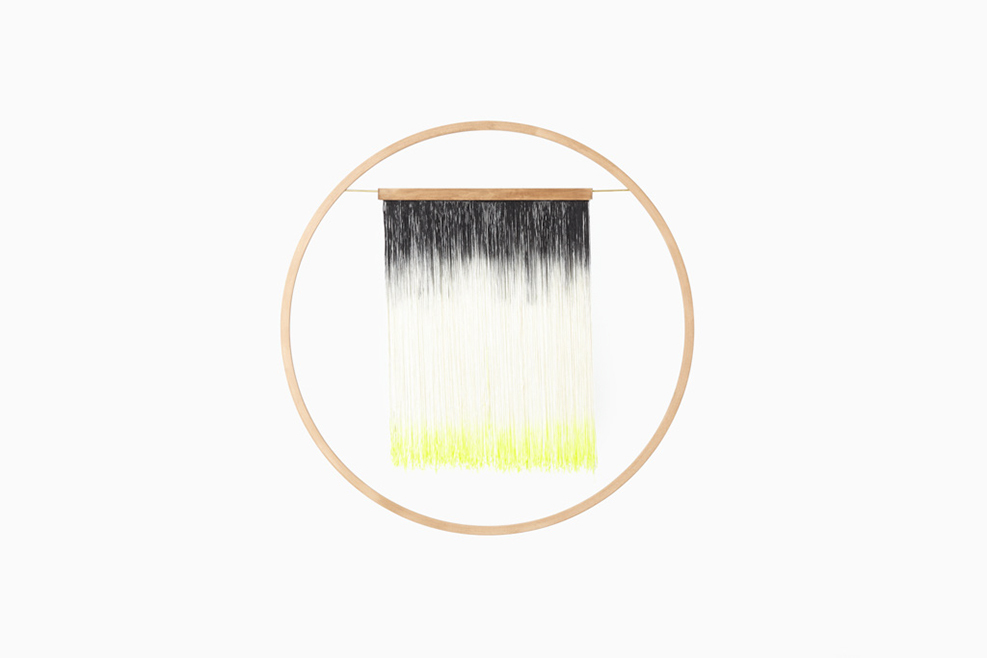Totokaelo - Julie Thevenot  - fringe wall hanging