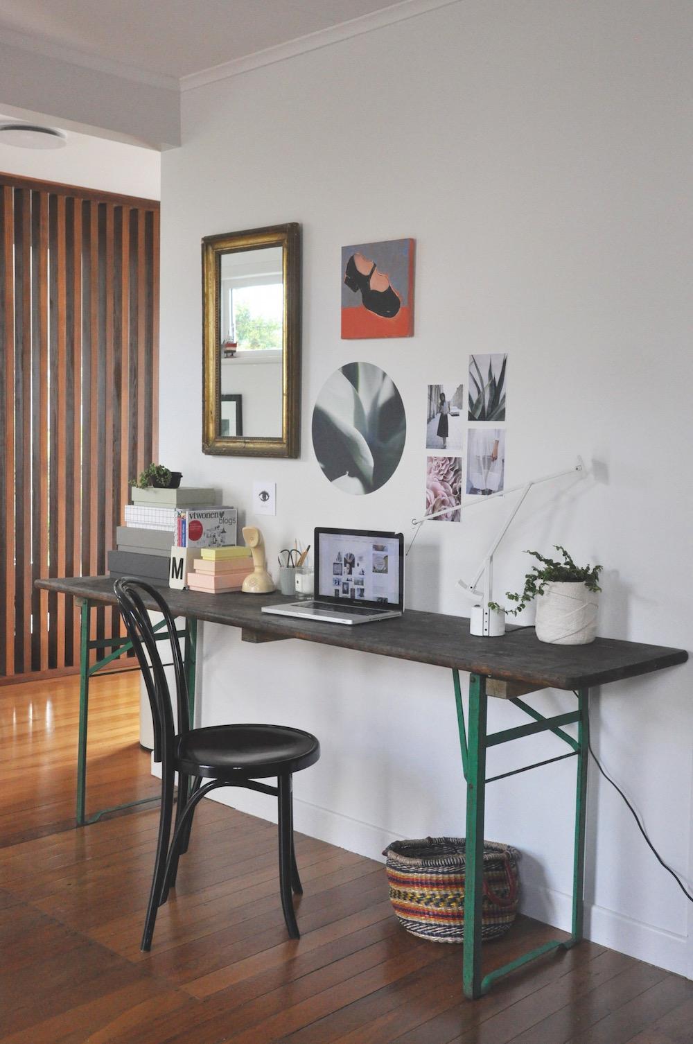 a desk restyle-
