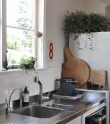 urban jungle bloggers kitchen greens