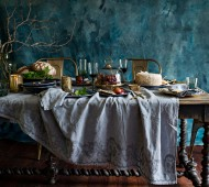 French-Country-Collections'-Winter-Table-&-a-Flatbread-Recipe