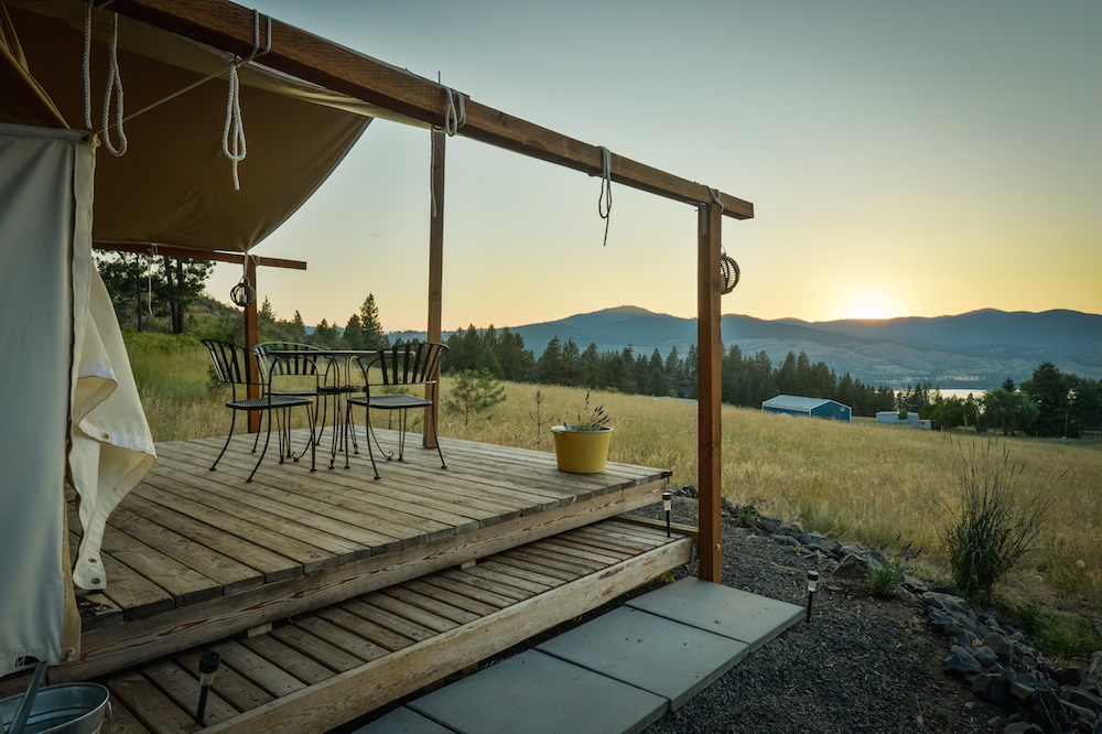 Glamping around the world,