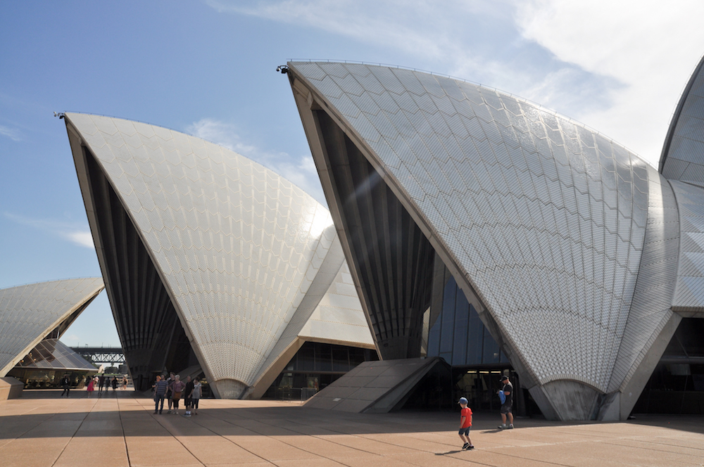 Utzon & Le Corbusier's Sydney Opera House Collaboration .,