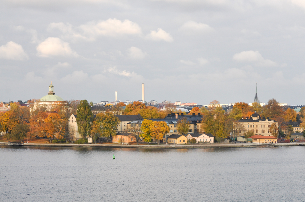 The Autumn hues of Stockholm