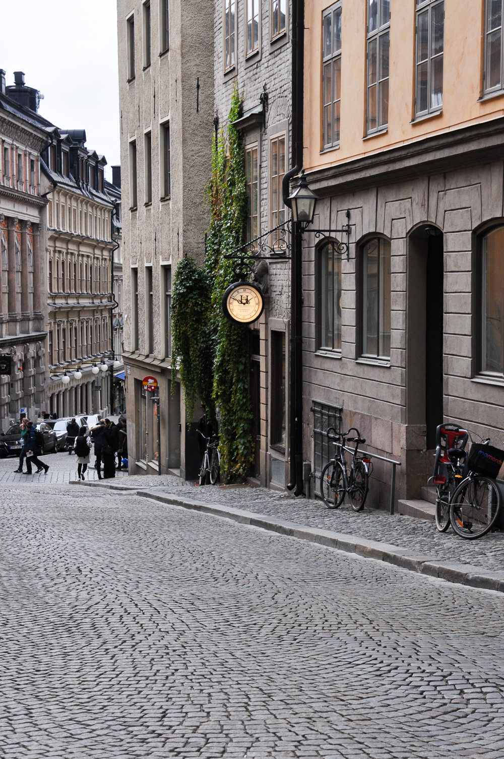 Gamla Stan, Stockholm's old town.