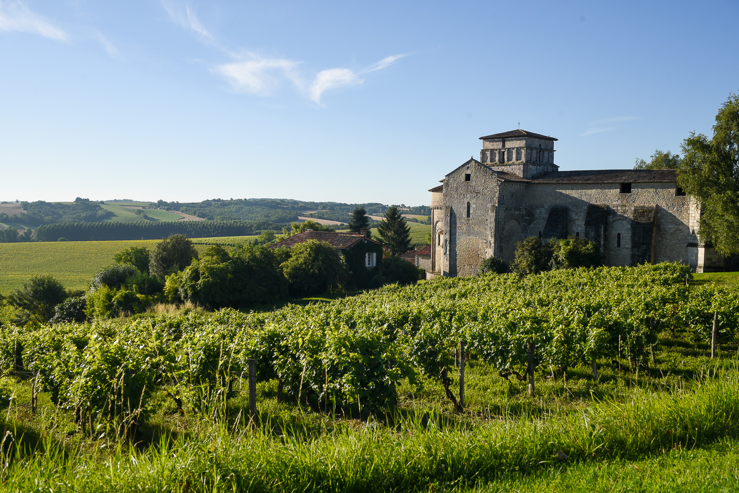 Drive Through The Countryside Of Chae France And You Might Just Stumble Upon This Quaint Little Village Surrounded By Vineyards Fields